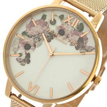 腕時計 レディース オリビアバートン OLIVIA BURTON OB16WG18 クォーツ ピンクゴールド マルチカラー