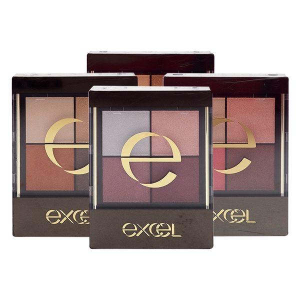 日本 Excel 光綻時裳四色眼采(31g含裝) 多款可選【小三美日】眼影