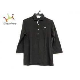 ラコステ Lacoste 長袖ポロシャツ サイズ3 L メンズ 美品 ダークブラウン  値下げ 20190823