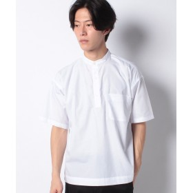 【50%OFF】 コエ ブロードプルオーバーシャツ メンズ ホワイト M 【koe】 【セール開催中】