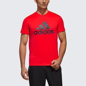 <adidas/アディダス> メンズ/MH BOS CLIMALITE グラフィック Tシャツ ショックレッド 【三越・伊勢丹/公式】