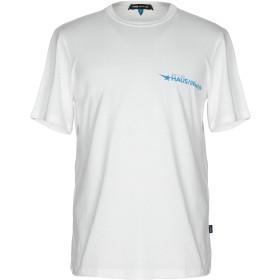 《セール開催中》HAUS GOLDEN GOOSE メンズ T シャツ ホワイト S コットン 100%