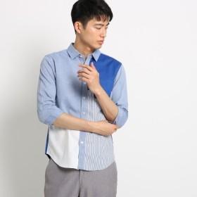 [マルイ]【セール】切替パナマシャツ/ザ ショップ ティーケー(メンズ)(THE SHOP TK Mens)