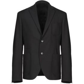 《期間限定セール開催中!》VERSACE COLLECTION メンズ テーラードジャケット ブラック 52 ポリエステル 53% / ウール 44% / ポリウレタン 3%