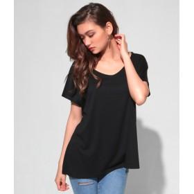 Tシャツ - ANAP ディープVネックゆるTシャツ