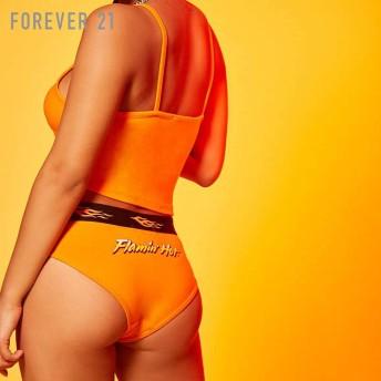 FOREVER21 フォーエバー21 【Flamin Hot Cheetosロゴパンティー】(5,000円以上購入で送料無料)