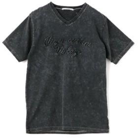 【40%OFF】 メンズビギ 刺繍Tシャツ メンズ チャコールグレー S 【Men's Bigi】 【セール開催中】