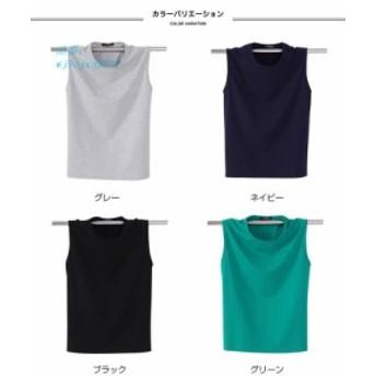 Tシャツ メンズ タンクトップ Tシャツ 6XL トップス かっこいい 無袖 夏新作 無地 カジュアル カットソー S ノースリーブ Tシャツ