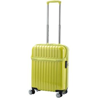 【36%OFF】トップオープンS 33L スーツケース ライムカーボン s