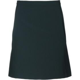 《期間限定 セール開催中》ROBERTO COLLINA レディース ひざ丈スカート ダークグリーン XS ポリエステル 75% / レーヨン 19% / ポリウレタン 6%