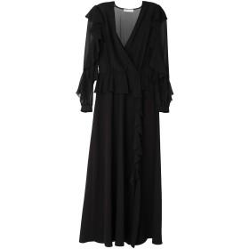《期間限定セール開催中!》SILVIAN HEACH レディース ロングワンピース&ドレス ブラック XXS ポリエステル 100%