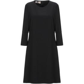《セール開催中》BLANCA レディース ミニワンピース&ドレス ブラック 40 ポリエステル 90% / ポリウレタン 10%