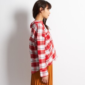 シャツ - G & L Style レディース トップス カットソー シャツ ボタン ボーイズ ドルマン チェック 大人 かわいい チェックデザインシャツ 5195