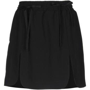 《期間限定セール開催中!》.TESSA レディース ミニスカート ブラック 42 ポリエステル 100%
