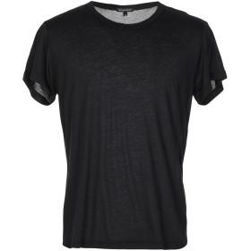 《期間限定 セール開催中》ANN DEMEULEMEESTER メンズ T シャツ ブラック XS コットン 70% / シルク 30%