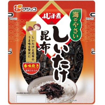 フジッコ 海のやさい・しいたけ昆布(G) 112g まとめ買い(×10)|4902553001182(tc)