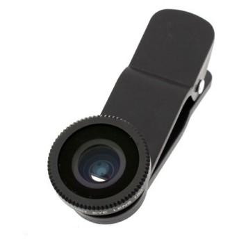 サンコー インカメラも利用できるクリップ式広角レンズ2 ブラック CLPWIDBK スマートフォン タブレット 携帯電話 iPhone 代引不可
