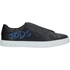 《期間限定 セール開催中》TOD'S メンズ スニーカー&テニスシューズ(ローカット) ブラック 5 革