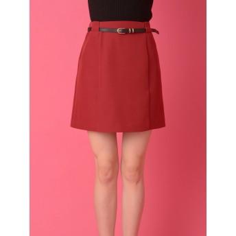 ロングスカート - CECIL McBEE ベルト付きミニスカート