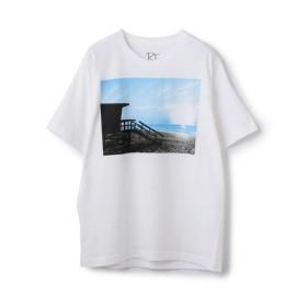 【20%OFF】 メンズビギ プリントTシャツ<ホワイトボディ> メンズ B M 【Men's Bigi】 【セール開催中】