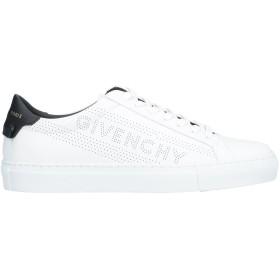 《セール開催中》GIVENCHY レディース スニーカー&テニスシューズ(ローカット) ホワイト 35.5 革