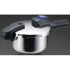 ベストコ  4549308520552 軽〜いステンレス製切替式片手圧力鍋 HB−2055
