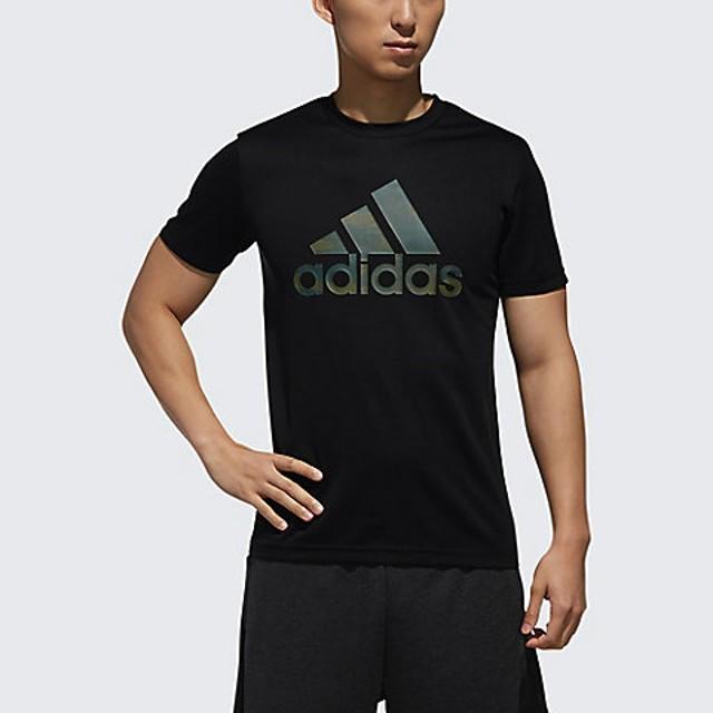 <adidas/アディダス> メンズ/MH BOS CLIMALITE グラフィック Tシャツ ブラック【三越・伊勢丹/公式】