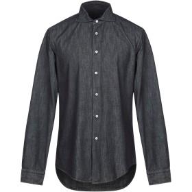 《9/20まで! 限定セール開催中》BRIAN DALES メンズ デニムシャツ ブルー 42 コットン 100%