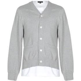 《期間限定 セール開催中》COMME des GARONS メンズ スウェットシャツ グレー M コットン 100%