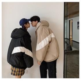 2018秋 冬 新作 メンズ アウター フードつきコート ジャケット ダウンコート コットンコート カップルウェア 学院風
