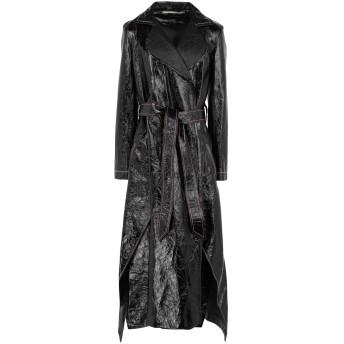 《セール開催中》ROLAND MOURET レディース ライトコート ブラック 8 革 100%