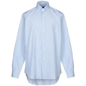 《9/20まで! 限定セール開催中》CANALI メンズ シャツ スカイブルー 40 コットン 100%