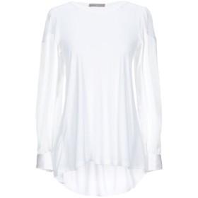 《期間限定セール開催中!》HIGH by CLAIRE CAMPBELL レディース T シャツ ホワイト XS レーヨン 90% / シルク 10%