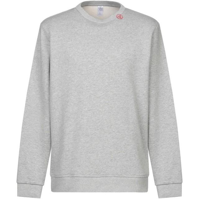《期間限定セール開催中!》ALTERNATIVE メンズ スウェットシャツ グレー S コットン 100%