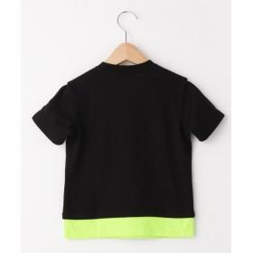 Tシャツ - THE SHOP TK 【100~150cm】ネオンカラーレイヤードTシャツ