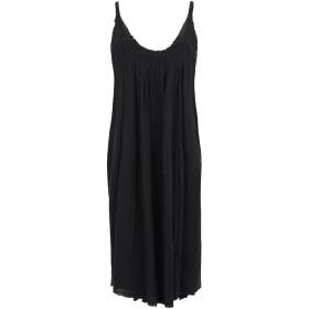《期間限定セール開催中!》ALLSAINTS レディース ひざ丈ワンピース ブラック XS/S コットン 100% romey short dress