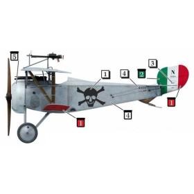 1/32 ニューポール 17用デカール 「フルコ・ ルッフォ・ディ・カラブリア乗機マーク」[コッパーステートモデル]《在庫切れ》