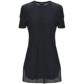 《セール開催中》ANN DEMEULEMEESTER レディース T シャツ ブラック 34 コットン 100%