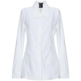 《期間限定セール開催中!》ANN DEMEULEMEESTER レディース シャツ ホワイト 36 コットン 100%