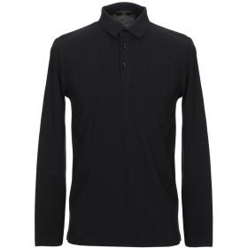 《セール開催中》VERRI メンズ ポロシャツ ブラック S コットン 100%