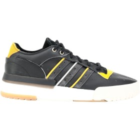《セール開催中》ADIDAS ORIGINALS メンズ スニーカー&テニスシューズ(ローカット) ブラック 6 革 RIVALRY RM LOW