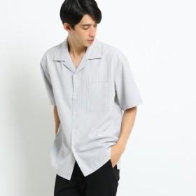 [マルイ]【セール】サッカーストライプシャツ/オペークドットクリップ(メンズ)(OPAQUE. CLIP Mens)