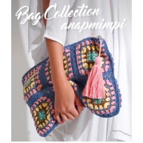 【ANAP:バッグ】カギアミタッセルクラッチバッグ