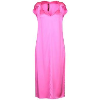《9/20まで! 限定セール開催中》SIES MARJAN レディース 7分丈ワンピース・ドレス フューシャ 4 シルク 100%