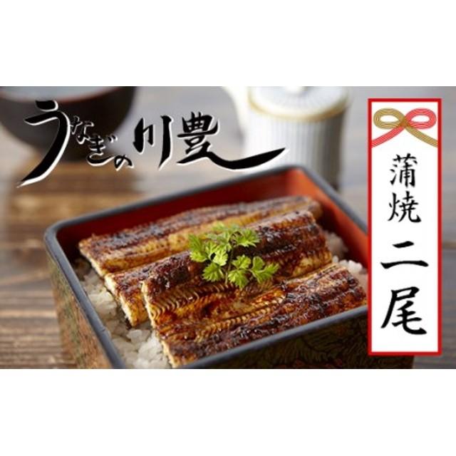 昭和56年創業うなぎの川豊蒲焼き2尾セット(有頭)