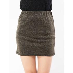 ロングスカート - CECIL McBEE ラメミニスカート
