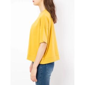 カットソー - CECIL McBEE ハイネック刺繍Tシャツ