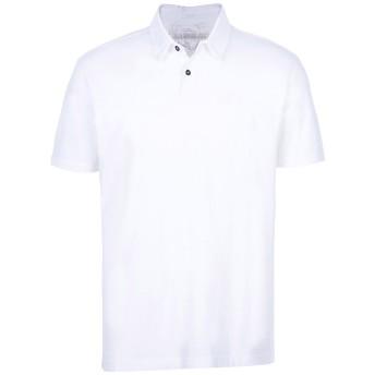《期間限定セール開催中!》NAPAPIJRI メンズ ポロシャツ ホワイト M コットン 100%
