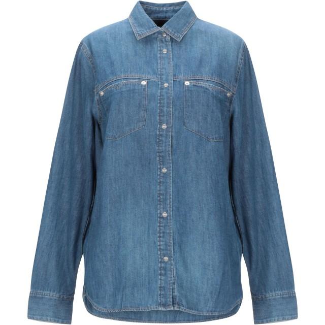 《セール開催中》DIESEL レディース デニムシャツ ブルー XS コットン 100%