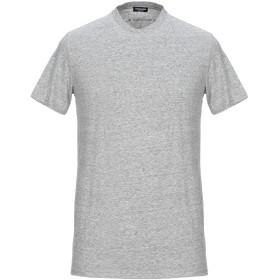 《セール開催中》DSQUARED2 メンズ アンダーTシャツ グレー S コットン 95% / ポリウレタン 5%